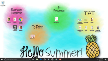 Summer Desktop Background