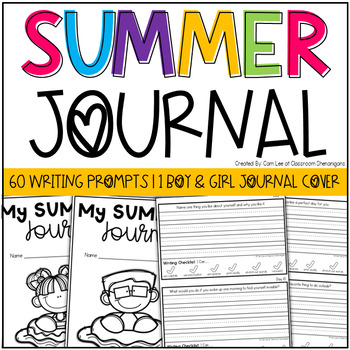 Summer Diary Booklet {End of the Year Writing Activity}