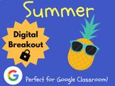 Summer - Digital Breakout! (Escape Room, Scavenger Hunt, End of Year)