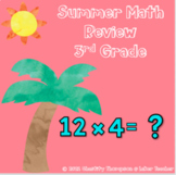 Summer_Digital_Math Spiral Review and Intervention for 3rd Grade