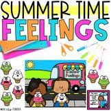 Summer Digital & Printable Feelings Emotions Counseling &