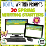Spring Digital Writing Prompts for Google Drive®