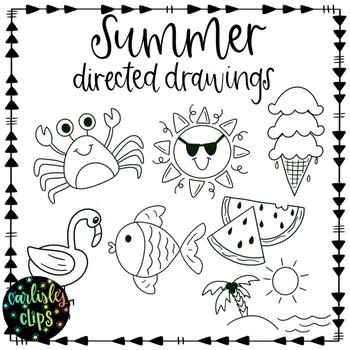 Summer Directed Drawings