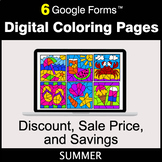 Summer: Discount, Sale Price, Savings - Google Forms | Dig