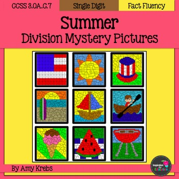 Summer Division Mystery Pictures