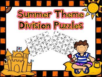 Summer Division Puzzles