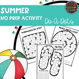 Summer No Prep Activity
