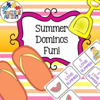 Summer Dominos Activity / Game