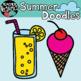 Summer Doodles * Beach Clipart