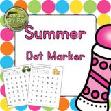 Summer Dot Marker Center