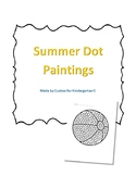 Summer Dot Paintings