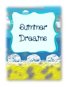 Summer Dreams Graphic Organizer