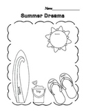Quick Summer Dreams Graphic Organizer