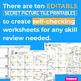 Summer EDITABLE Worksheets | Secret Picture Tiles