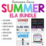 Summer ELA Bundle for Grades 4-6 Common Core Aligned