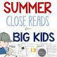 Summer ELA Bundle for Grades 4-6 Common Core Aligned