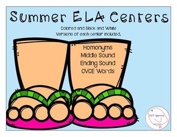 Summer ELA Centers