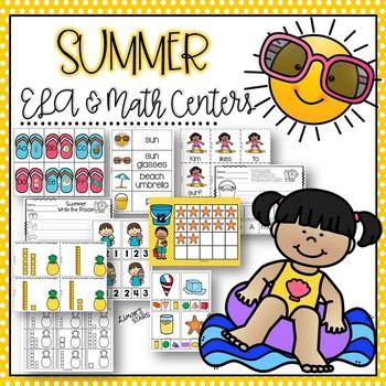 Summer ELA & Math Centers