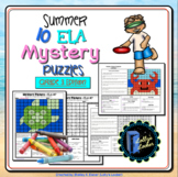 Summer ELA Mystery Puzzles Grade 3 Edition