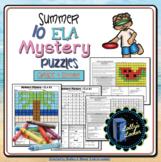 Summer ELA Mystery Puzzles Grade 4 Edition