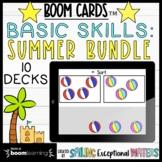 Summer Math Skills Boom Card™ Bundle