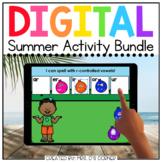 Summer + ESY Digital Activity Bundle [13 digital activities!] Distance Learning