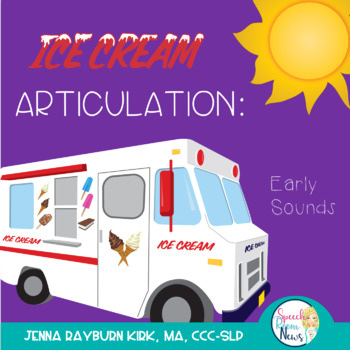 Summer:  Early Developing Sounds Articulation Game