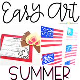 Summer Easy Art Pack: Adapted Art and Writing Activities