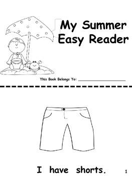 Summer Easy Reader