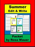 Edit and Write Summer