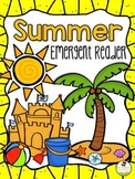 Summer Emergent Reader & Printable Coloring Book