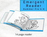 Summer Emergent Reader for Preschool