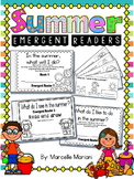 Summer-Emergent Readers- Sight Word Emergent Reader Cut & Assemble books