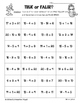 Summer / End of Year Basic Facts Addition and Subtraction - 3 Worksheets!