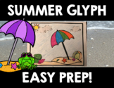 Summer End of Year Glyph and Bar Graph