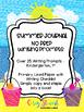 Summer / End of Year NO PREP Journal Writing Prompts Kindergarten 1st