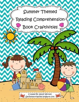 Summer & End of the Year Reading Comprehension Craftivitie
