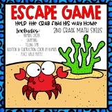 Summer Escape Room 2nd grade Math Skills