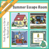 Summer Escape Room: Finish the Rhyme Get to the Beach on Time