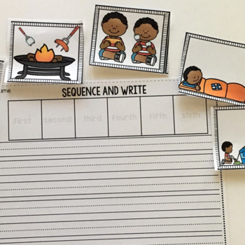 Summer Events Sequencing- Pictures and Writing