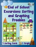 Summer Excursions Sorting and Graphing Freebies