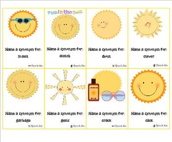 Summer Expressive Language Pack