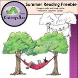 Children Reading - Summer FREEBIE!  #tptclipartistscollab
