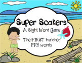 Summer FRY Sight Word Game
