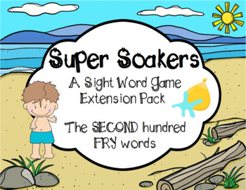 Summer FRY Sight Words Extension Pack (words 101-200)