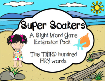 Summer FRY Sight Words Extension Pack (words 201-300)