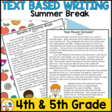 Summer FSA Writing - May Passages, Writing Prompts, and Rubric