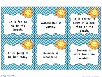 Fact or Opinion: Summer