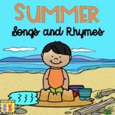 Summer: Songs & Rhymes