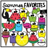 Summer Favorites (Clip Art for Personal & Commercial Use)